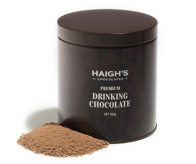 "**THE PERFECT INDULGENT WINTER TREAT** <br><br> Who doesn't love Haigh's chocolate? Their fancy version of your regular old cup of Milo is a delightful way to indulge Mum's sweet tooth as we settle into these cooler winter months.  <br><br> **[AVAILABLE FROM: Haigh's online, $21.90](https://www.haighschocolates.com.au/drinking-chocolate-2|target=""_blank""