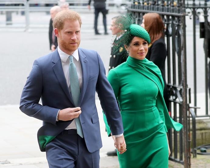 Prince Harry and Meghan have been faced with unprecedented circumstances after arriving in LA.