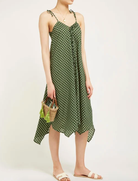 "Penny has the right idea in mind when it comes to the consistency of a good summer dress, and this beautiful Belize style is perfect for a day spent at home, and for outdoor barbecues to come. $172, [buy it online here](https://www.matchesfashion.com/au/products/1270636|target=""_blank""