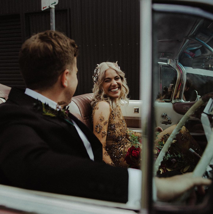 "Who would've thought a drive-thru wedding would be the way to go? [**I Do Dive Thru**](https://idodrivethru.com.au/|target=""_blank""