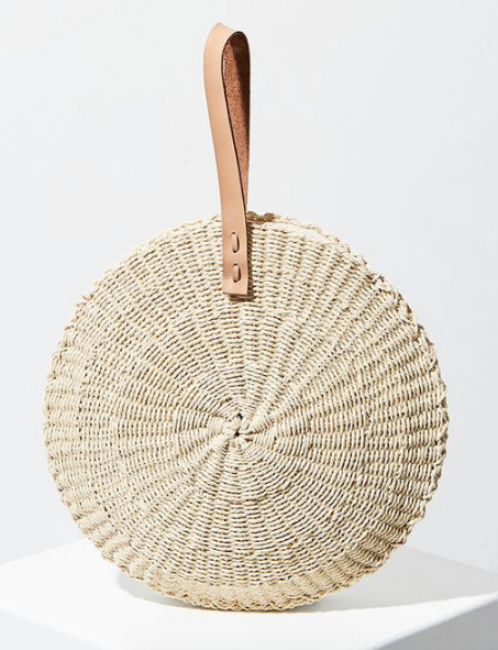 "Aussie company Well Made Clothes is all about supporting local talent with an ethos entrenched in fashion made ethically and sustainably. This adorable flax bag made by The Beach People sums it up perfectly, it's made from woven recycling paper! $82, [order it online here](https://wellmadeclothes.com.au/scallop-midi-bag|target=""_blank""