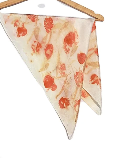 "Another collective providing plenty of Mother's Day inspiration is FAID Store, which houses a number of up and coming Australian designers, creating an online hive of local talent. This beautiful 100% silk scarf by South Australian brand Hunter Made is botanically hand dyed by natural textile artist Phoebe Hunter with eucalyptus leaves and rain water. $45, [order it online here](https://www.faidstore.com/collections/scarves-travel-wraps/products/hunter-made-ethereal-eucalyptus-signature-print-hair-scarf|target=""_blank""