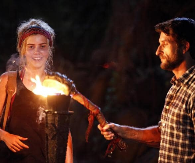 "Aimee described *Australian Survivor* as ""cut-throat"" but admitted *House Rules* was harder."