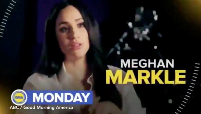 Meghan's rare televised interview will air on Monday, April 20.