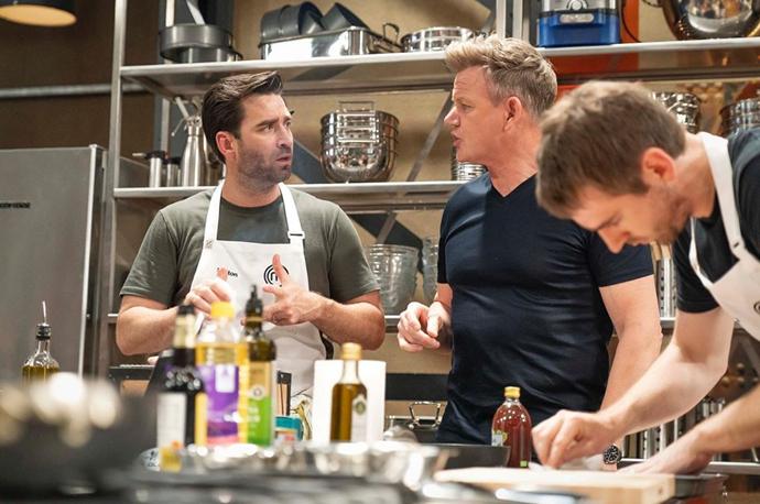 Lynton admired Gordon Ramsay's no-nonsense attitude in the kitchen.