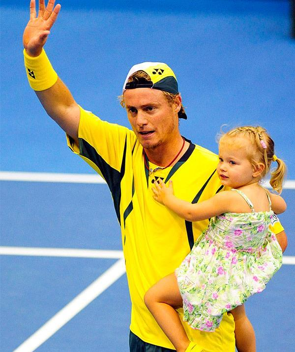 There's nothing more precious than the relationship a father shares with his daughter and when it comes to Mia and Ava, Lleyton is a complete and utter softie.