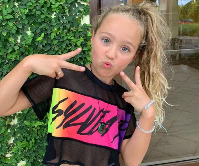 """Talented dancer Ava has become quite the social media sensation, clocking up over seven thousand followers [on her Instagram account.](https://www.nowtolove.com.au/celebrity/celeb-news/ava-hewitt-instagram-54914