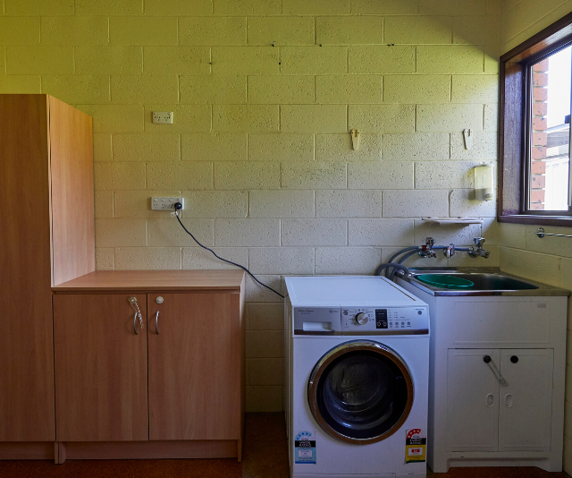 Basic and boring, the rundown laundry had potential.