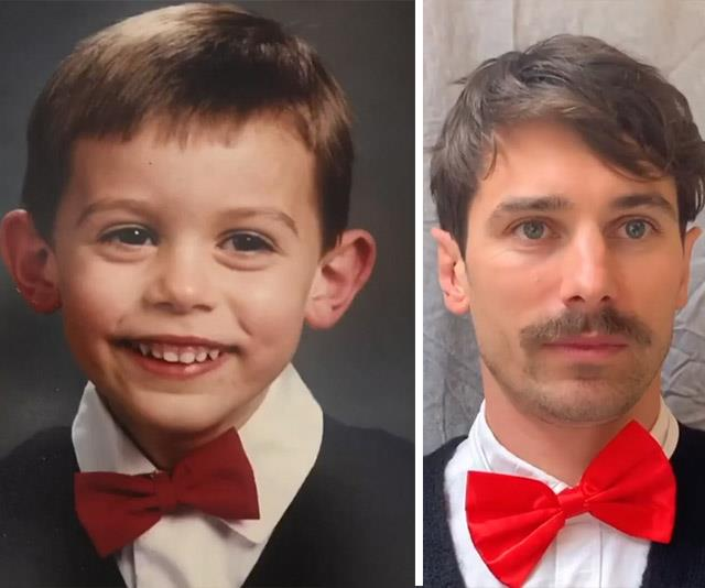 We should've known Matty was destined to be the Bachelor from an early age.