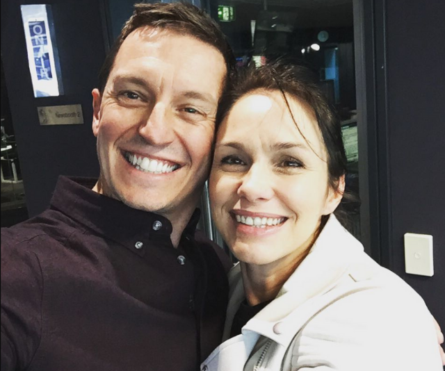 """""""I adore this woman so much. Thanks to Tasma for coming in to be part of @roveandsam today. We're about to sit and watch her on @clevermantv with our gorgeous little girl asleep in her room and I couldn't be happier right now,"""" Rove captioned this sweet post."""