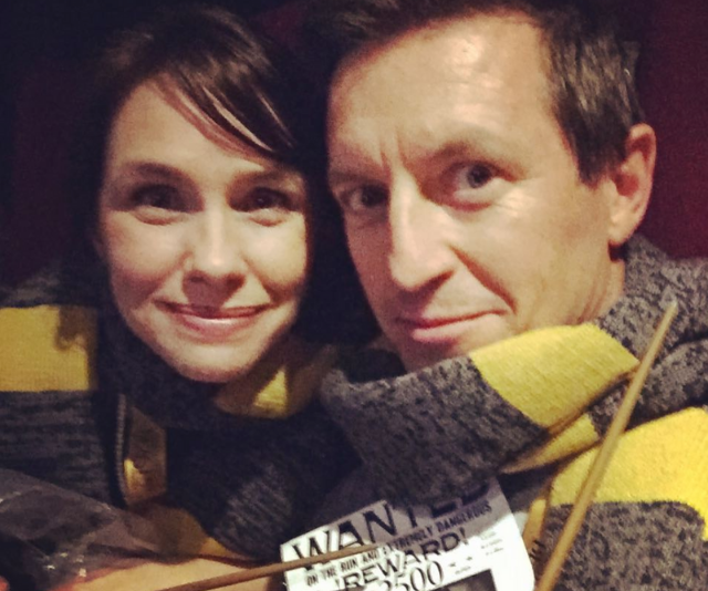 Date night *Harry Potter* style for these love-birds.