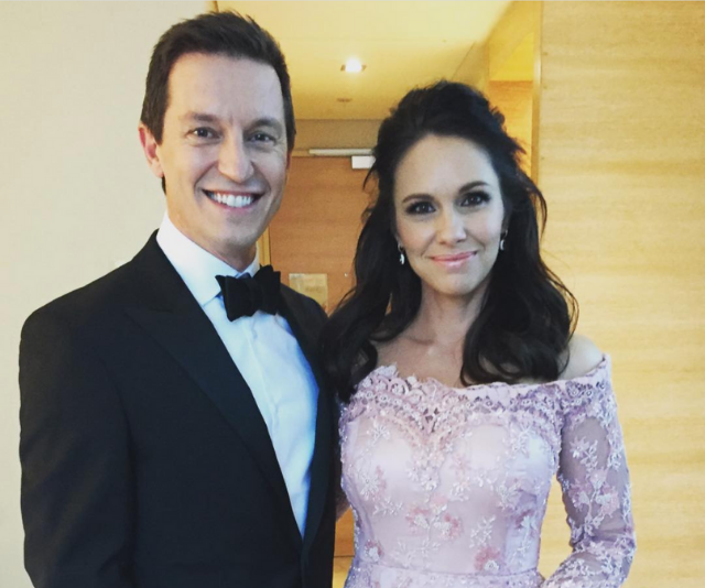 """Rove captioned this pre-TV WEEK Logies pic: """"Wedding cake ready."""""""