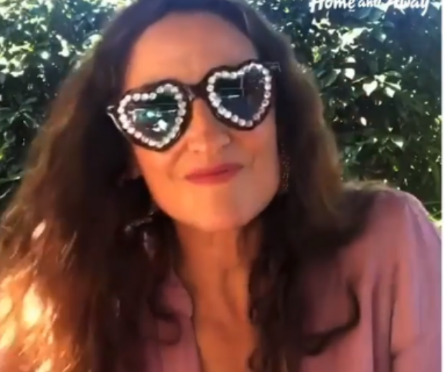 """**Georgie Parker** <br><br> [Georgie Parker](https://www.nowtolove.com.au/celebrity/celeb-news/georgie-parker-operation-changed-life-51365 target=""""_blank"""") also added to the chorus of reassuring messages with her own inspirational video. <br><br> """"I just want to send out a message to anyone that's listening that I understand that this is a very difficult time for a lot of people,"""" Georgie, who plays Roo, said. <br><br> """"There's a lot of unknowns, there's a lot of uncertainty and there's a lot of stress and I'm just here to give you a little reminder that if we only focus on those things, then that is all we will feel."""" <br><br> The actress told followers to take regular breaks where possible an echoed Lukas' sentiment that it's important not to be too hard on yourself and others in this period. <br><br> """"I am here giving you a message of, just take time out every day if you can, at any point, just to give yourself a break,"""" she said. <br><br> """"Give your mind a break of the monotony of stress, anxiety and self-preservation. Social distancing doesn't mean not being kind, not being emotionally connected and not being there for one another."""""""