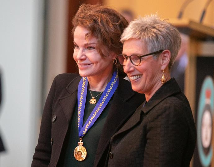 Sigrid received a Queen's Birthday Honour medal from the Governor of Victoria, Linda Dessau in September 2019 for her contribution to the Arts.