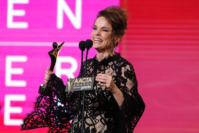 Sigrid won an AACTA Award in 2005 for her role in *Peter Allen: Not the Boy Next Door*.