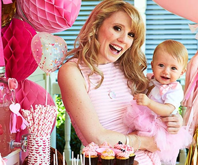 In 2015, Nikki celebrated Skylah's first birthday with a pink playground fit for her little princess.