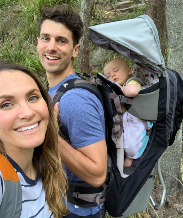 Turns out Marlie isn't quite a fan of hiking or nature.