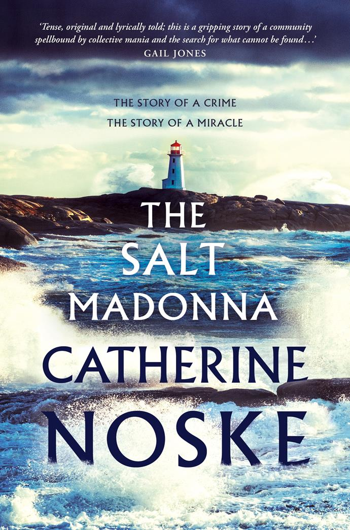 ***The Salt Madonna* by Catherine Noske**  <br>*Literary fiction* <br><br> Chesil is a remote fictional island off the coast of Western Australia, where creeping economic collapse and an exodus of young people have brought dark times.  <br><br> Hannah's childhood community is falling apart at the seams, the men out of work, children with no direction and an underbelly of violence threatening.  <br><br> This is a powerful, evocative tale set against a rugged landscape watched over by ancient cypress trees.