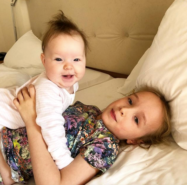 Sisters are doing it for themselves. Seriously, can these two get any cuter?
