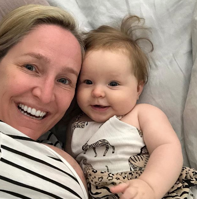 Too cute! Fifi and Daisy share a sweet selfie moment.