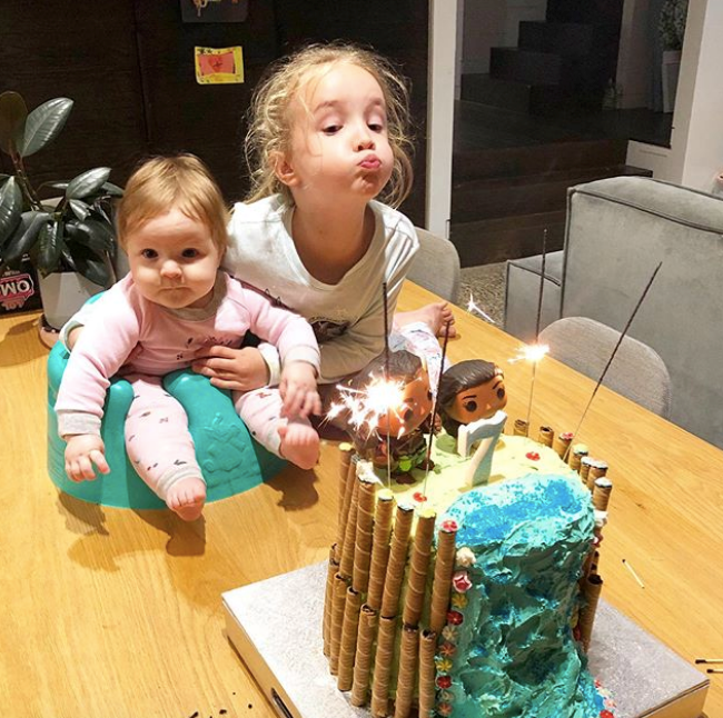 "Trixie might have [celebrated her seventh birthday in isolation](https://www.nowtolove.com.au/parenting/celebrity-families/fifi-box-daughter-trixie-birthday-63356|target=""_blank""), but she didn't let that retract from going all out on the cake. Barbie cake, eat your heart out..."