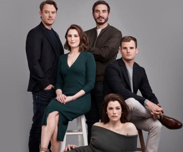 The cast of 10's new drama, The Secrets She Keeps.