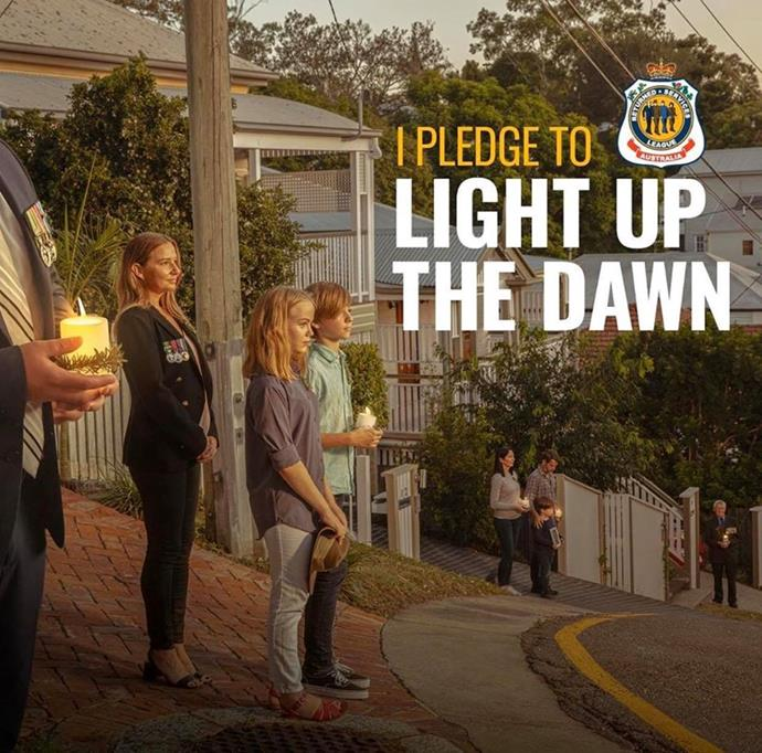 Use the hashtag #LightUpTheDawn for any social media posts.