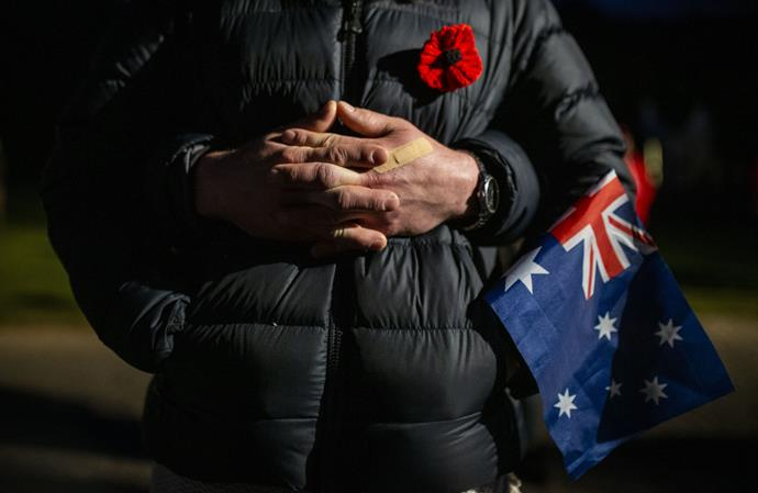 You can still pay your respects on Anzac Day from home.