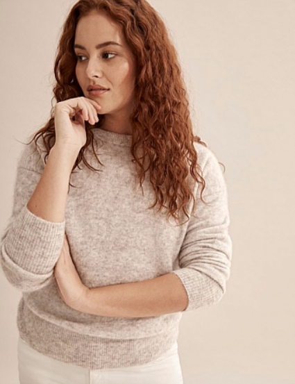 "If you're after a little extra luxury, this merino blend jumper from Country Road will have you feeling ultra cosy and chic to boot in no time. $159, [buy it online here](https://www.countryroad.com.au/shop/woman/clothing/knitwear/60252018-2332/Relaxed-Fluffy-Knit.html|target=""_blank""