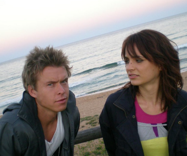Todd was close on- and off-screen with Jessica Tovey who played his love interest.