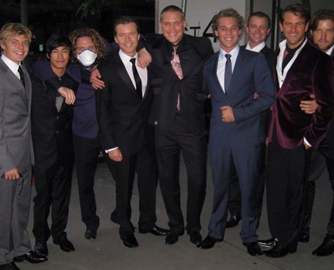 More boys of the bay brushed up flash for a fancy event back in the day - check out the velvet tux!