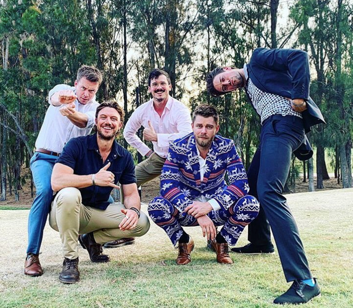 And they're still friends to this day! Luke Mitchell thrilled fans when he shared this gem to Instagram back in December. Lincoln Younes, Todd Lasance, Charles Cottier and Adam Demos  looked like they had quite the reunion.