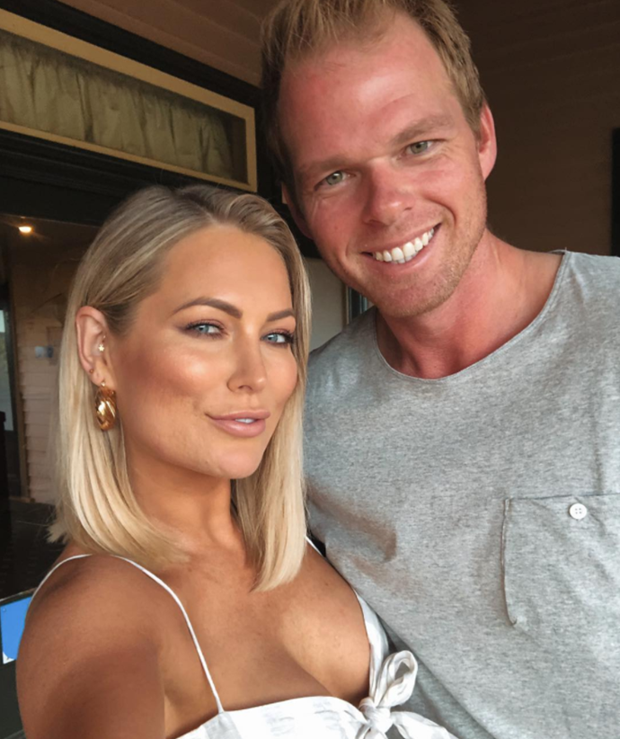 Jarrod was previously in a relationship with Keira Maguire (pictured) after meeting on *Bachelor in Paradise.*