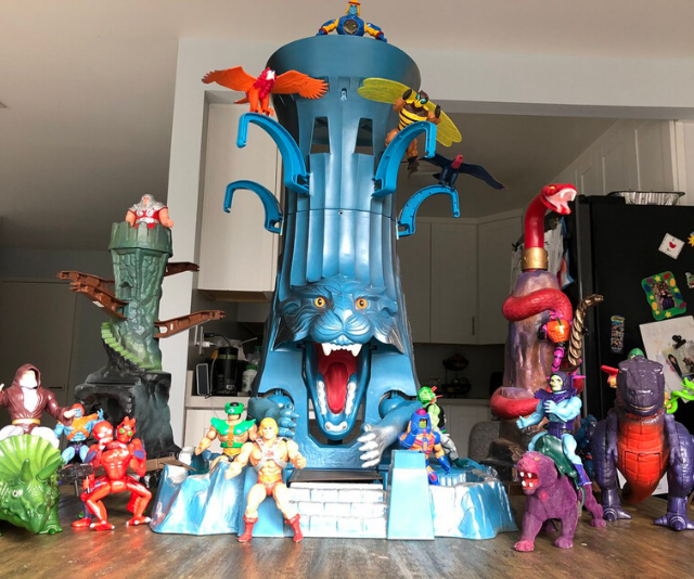Trent's prized toy Eternia.