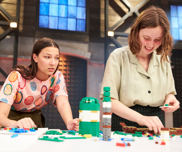There was a reported walk out on *Lego Masters* by one pair of contestants.