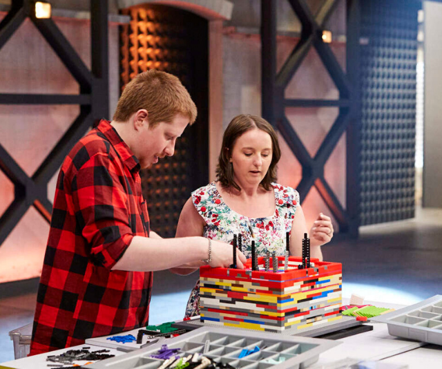 The brick building couple have had TWO miracle babies.