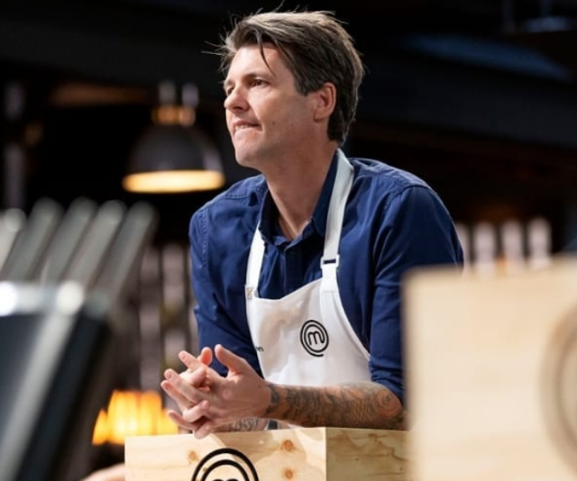 Not even being best mates with judge Andy Allen could save season four's **Ben Milbourne** when he served up overcooked salmon and was sent home.