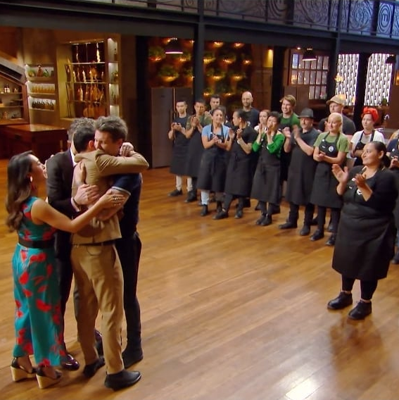 Ben's goodbye was an emotional one for the *MasterChef* crew.