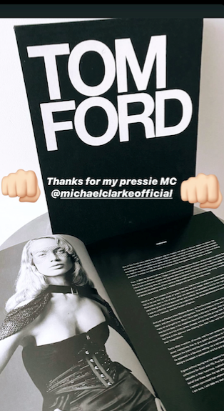 What does it all mean? Pip's Instagram post of her birthday gift from Michael Clarke.