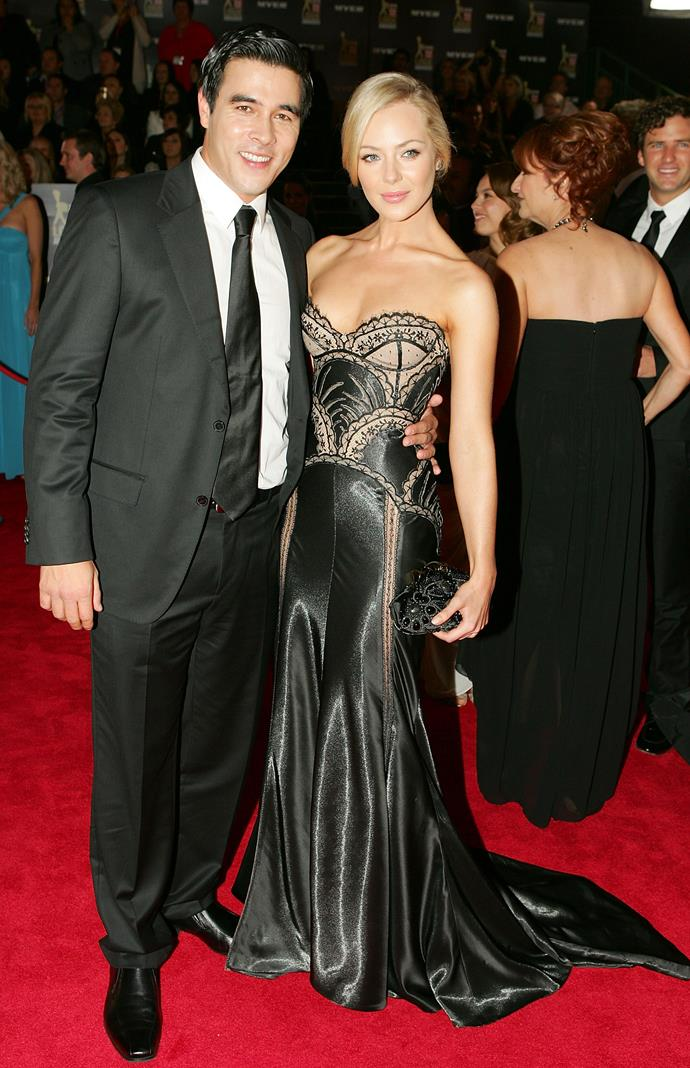 The pair oozed glamour at the TV WEEK Logie Awards in 2010.