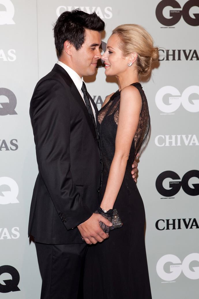 Things got a little steamy at the 2010 GQ Men Of The Year Awards.