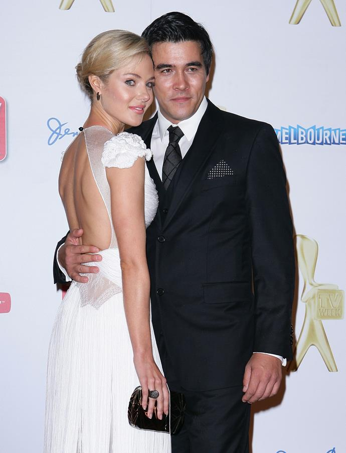 Jessica and James scrubbed up nicely for the 2011 TV WEEK Logie Awards.