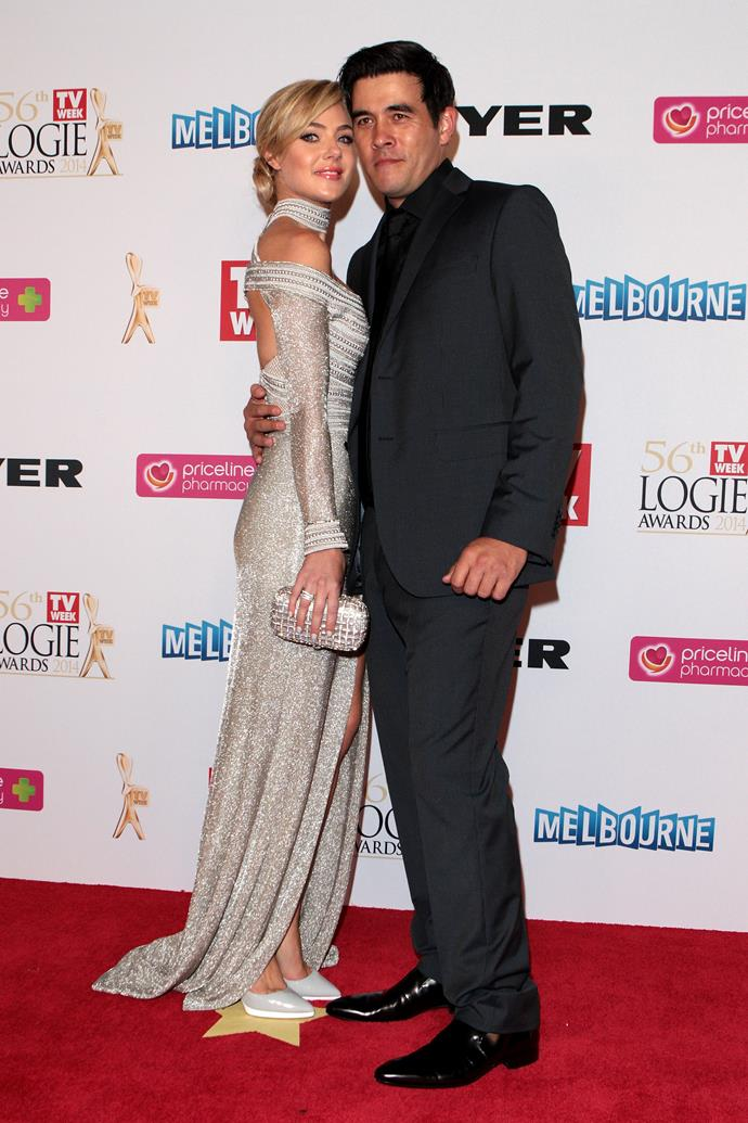 Proud parents Jessica and James left their then two-year-old daughter Scout at home for date night at the 2014 TV WEEK Logie Awards.