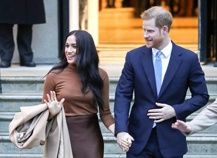 The Duke and Duchess have been busy at work as they navigate life outside of the royal family in LA.