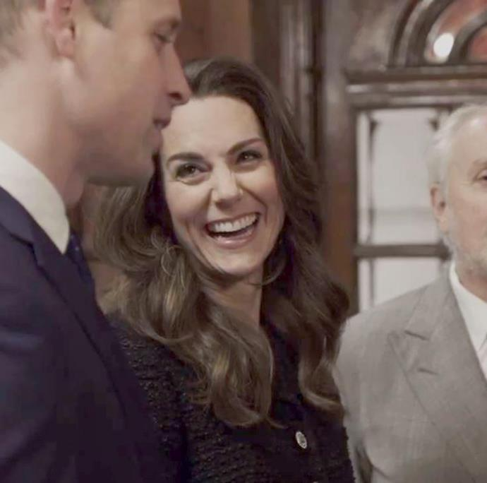 """During a visit to the theatre a month later, Kensington Palace [shared a behind the scenes clip](https://www.nowtolove.com.au/royals/british-royal-family/prince-william-kate-middleton-theatre-video-62791