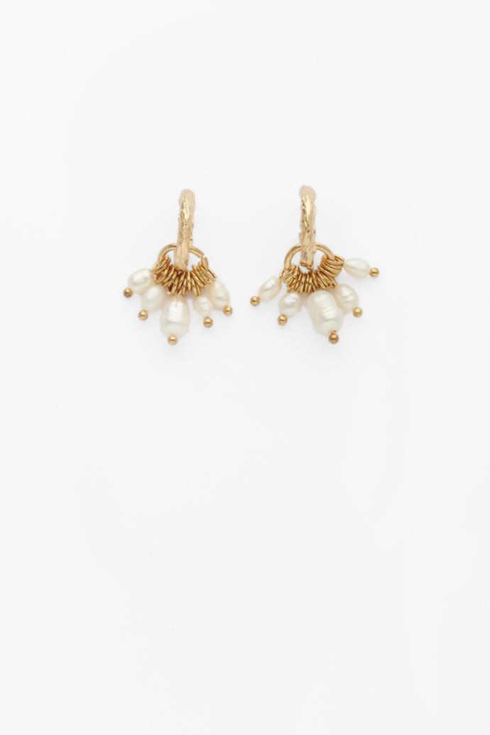 """**Reliqia earrings, $139** <br><br> These delicate pearls are making a strong comeback and will sure bring back some fashion flashbacks for mum.  <br><br> Check our these and other fab designs [here](https://reliquiajewellery.com/collections/ear/products/january-earrings