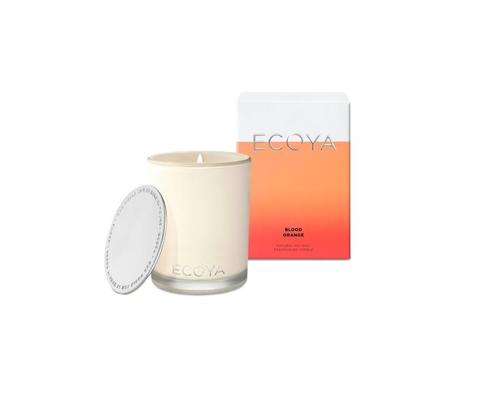 **Ecoya Madison Jar, $42.95**  Blood orange notes mingled with bergamot creates an uplifting and radiant fragrance for the home that mum is sure to love.  See their full range of other scents [here](http://www.ecoya.com.au).