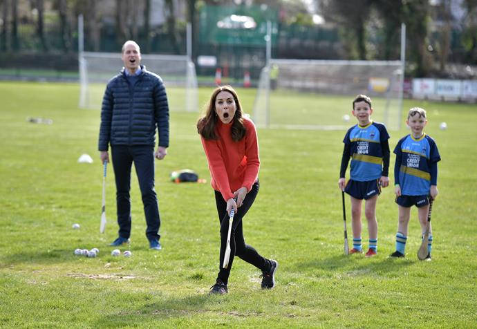 """During their [royal tour of Ireland](https://www.nowtolove.com.au/royals/british-royal-family/kate-middleton-prince-william-ireland-walking-62973