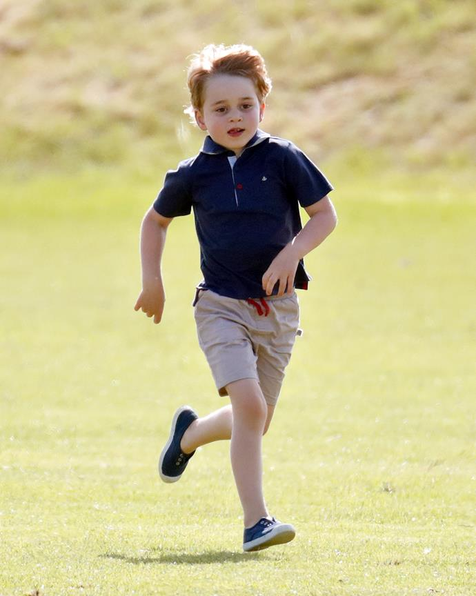 And onto the next generation! Prince George is a budding soccer player himself - as he's proved a fair few times over the years, including this 2018 appearance at the polo.