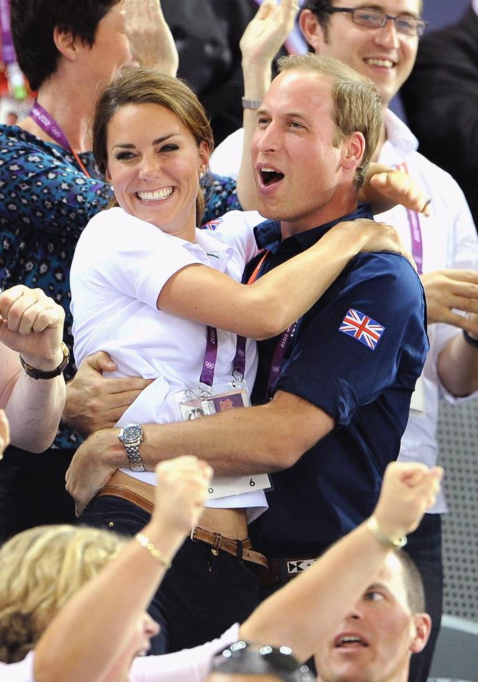 The 2012 London Olympics had everyone on the edge of their seat - including Wills and Kate!